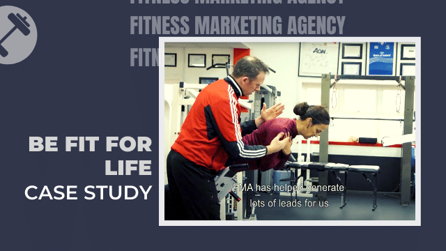 be fit for life gym marketing case study