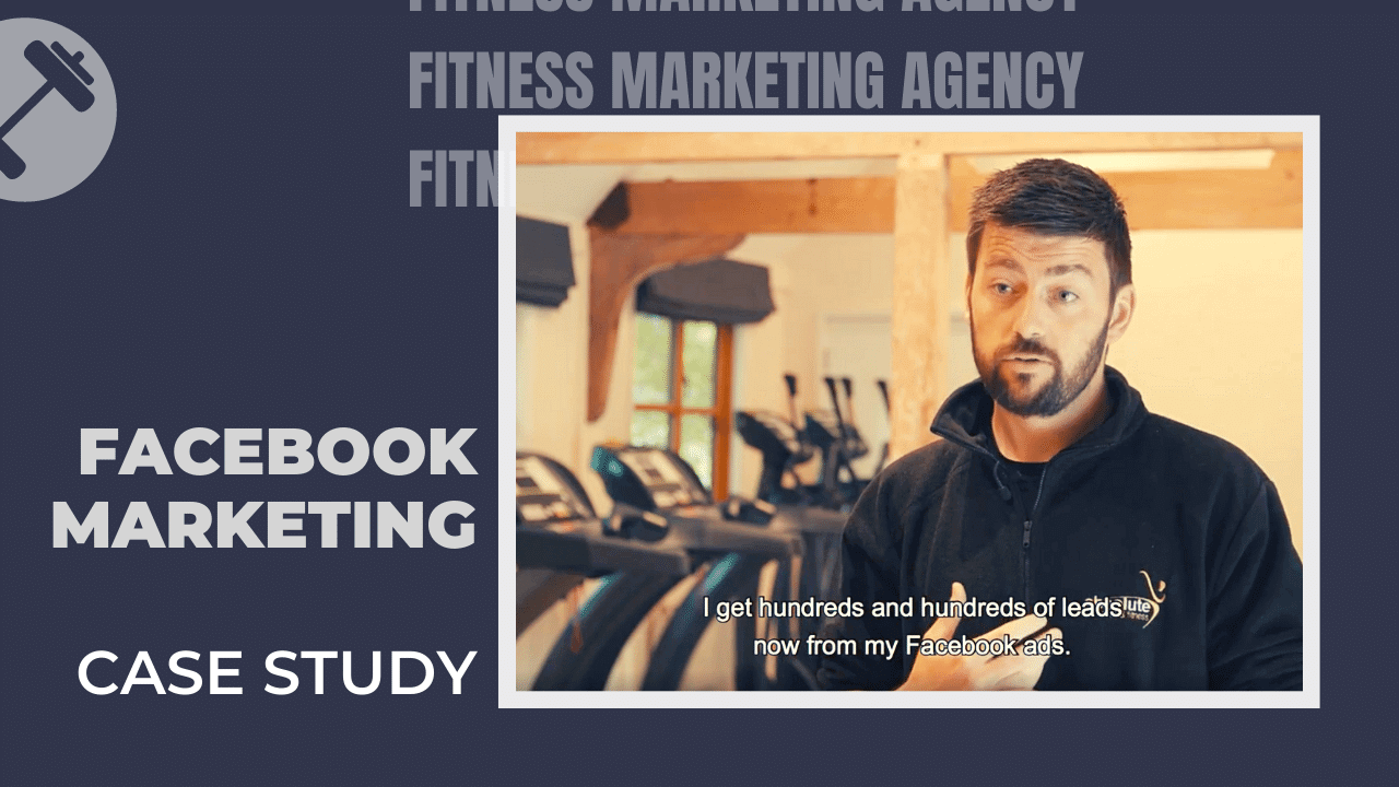 Facebook marketing for gyms case study