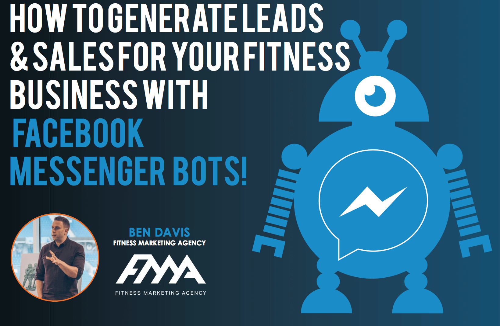 facebook messenger bots for fitness business lead generation