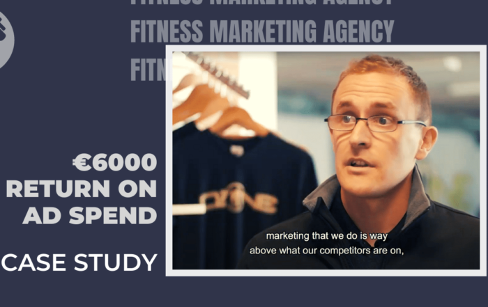 €5-6000 Return on fitness marketing advertising spend