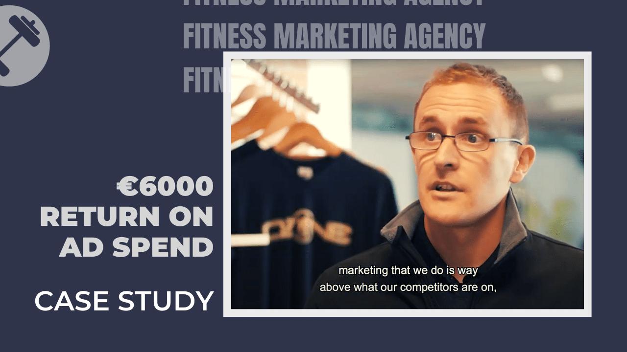 €5-6000 Return on fitness marketing advertising spend