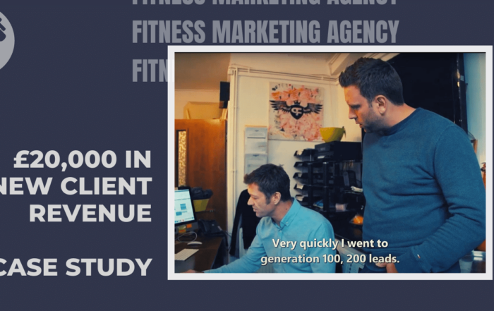 Gym revenue increase through marketing Fitness Marketing Case Study