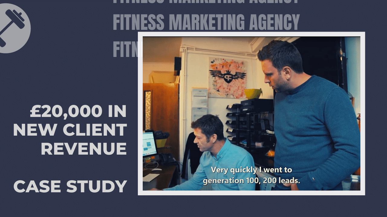 Gym revenue increase through marketing Fitness Marketing Case Study